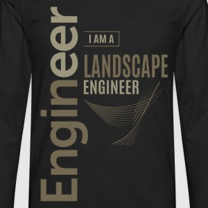 Landscape Engineer - Men's Premium Longsleeve Shirt