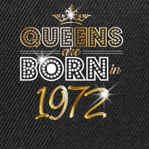 1972 - Birthday - Queen - Gold - EN Sudaderas - Gorra Snapback