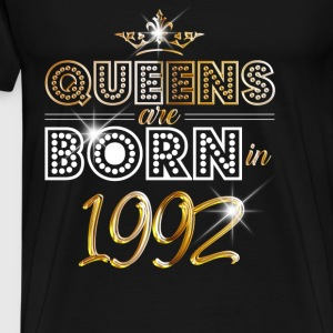1992 - Birthday - Queen - Gold - EN Sweat-shirts - T-shirt Premium Homme