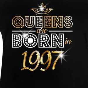 1997 - Birthday - Queen - Gold - EN Tee shirts - T-shirt Bébé