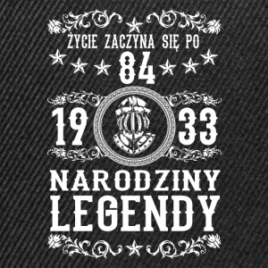 1933 - 84 lat - Legendy - 2017 - PL Sweat-shirts - Casquette snapback