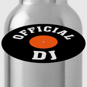 Vinyl DJ * Disc jockey Discjockey Techno Turntable T-shirts - Vattenflaska