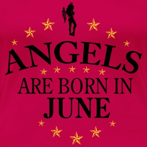 Angels June Langarmshirts - Frauen Premium T-Shirt