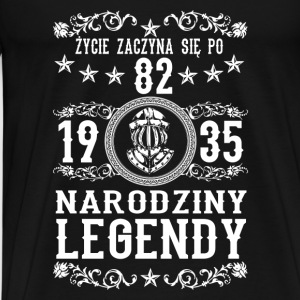 1935 - 82 lat - Legendy - 2017 - PL Sports wear - Men's Premium T-Shirt