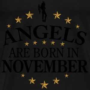 Angels November Tops - Männer Premium T-Shirt