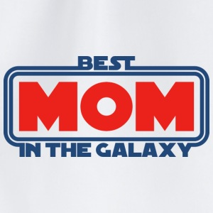 Best Mom in the Galaxy Mugs & Drinkware - Drawstring Bag