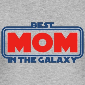 Best Mom in the Galaxy Pullover & Hoodies - Männer Slim Fit T-Shirt