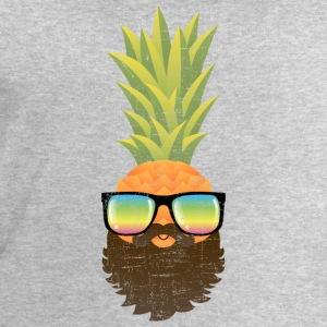 Pineapple Hipster With Beard And Sunglasses Magliette - Felpa da uomo di Stanley & Stella