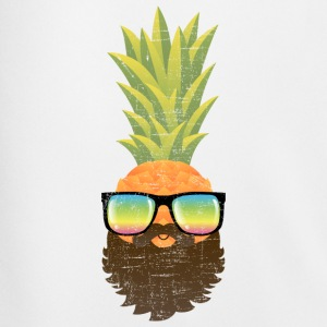 Pineapple Hipster With Beard And Sunglasses Long sleeve shirts - Men's Football shorts