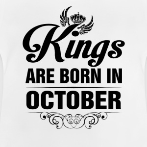 Kings Are Born In October Tshirt Shirts - Baby T-Shirt