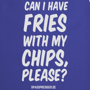 Chips with Fries - Cooking Apron