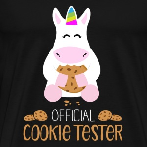 official cookie tester Tops - Männer Premium T-Shirt