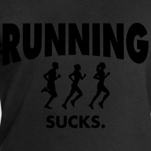 Running Sucks T-Shirts - Men's Sweatshirt by Stanley & Stella