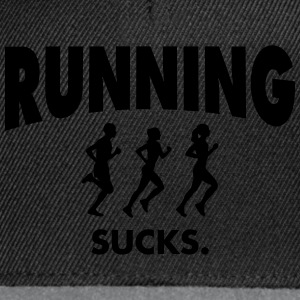 Running Sucks T-Shirts - Snapback Cap