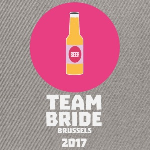 Team bride Brussels 2017 Henparty Shkd2 Shirts - Snapback Cap