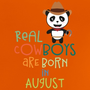 Real Cowboys are born in August Szqgg Shirts - Baby T-Shirt