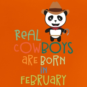Real Cowboys are born in February Spne3 Shirts - Baby T-Shirt
