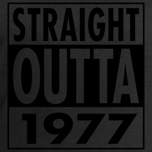 Straight Outta 1977 Funny 40th Birthday Gift Tops - Men's Sweatshirt by Stanley & Stella