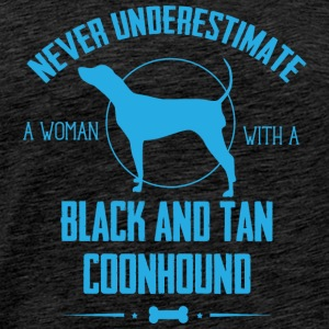 Dog Black and Tan Coonhound  Hoodies & Sweatshirts - Men's Premium T-Shirt