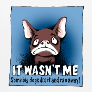 French Bulldog -It Wasn't Me... - Men's Premium T-Shirt