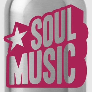 SOUL MUSIC STAR  T-Shirts - Water Bottle