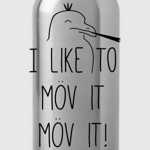I like to möv it! T-Shirts - Trinkflasche