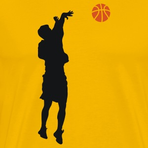 BASKETBALL PLAYER Mugs & Drinkware - Men's Premium T-Shirt