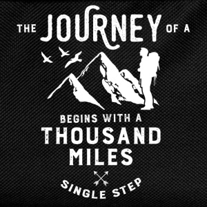 The journey of a thousand miles T-Shirts - Kids' Backpack