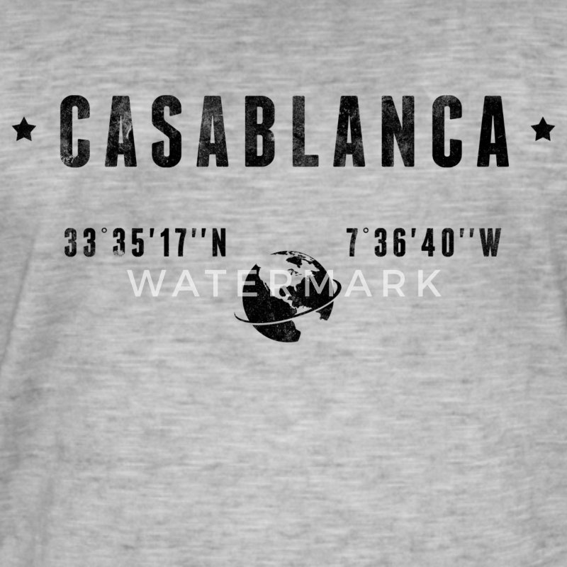 Casablanca Tee shirts - T-shirt vintage Homme