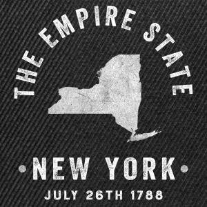 New York, the Empire state T-Shirts - Snapback Cap