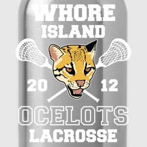 Whore Island Ocelots T-Shirts - Water Bottle