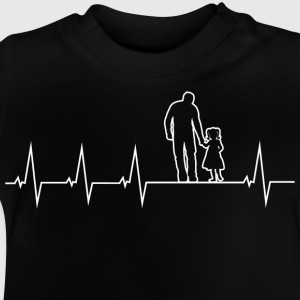 Father and daughter - heartbeat Shirts - Baby T-Shirt