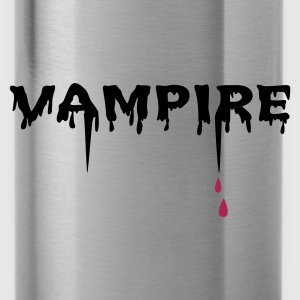 Red/white Vampire (2c) Bags  - Water Bottle