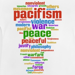 pacifism (peace not war) Shirts - Baby T-Shirt