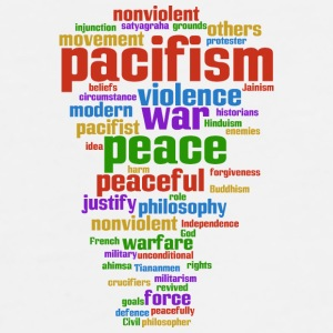 pacifism (peace not war) Phone & Tablet Cases - Men's Premium T-Shirt