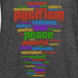 pacifism (peace not war) Bags & Backpacks - Women's Tank Top by Bella