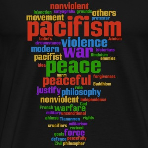 pacifism (peace not war) Other - Men's Premium T-Shirt
