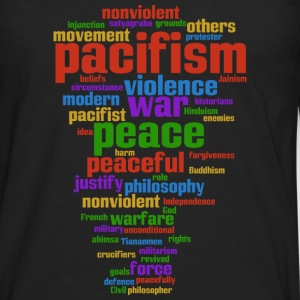 pacifism (peace not war) Other - Men's Premium Longsleeve Shirt
