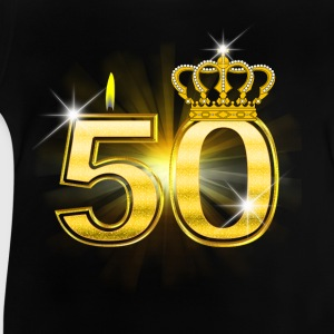 50 - Birthday - Queen - Gold Shirts - Baby T-Shirt