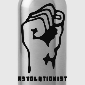 Black faust_revolutionist_1f Men's T-Shirts - Water Bottle