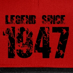 Legend since 1947 T-Shirts - Snapback Cap