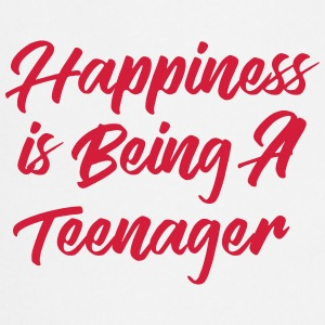 Happiness is being a Teenager T-skjorter - Kokkeforkle