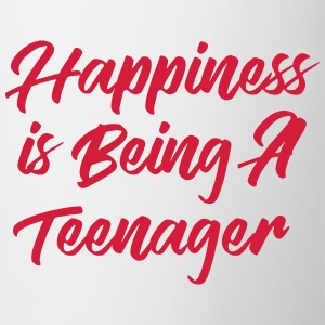 Happiness is being a Teenager T-shirts - Mugg