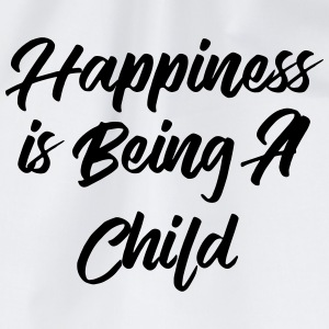 Happiness is being a child Tee shirts - Sac de sport léger