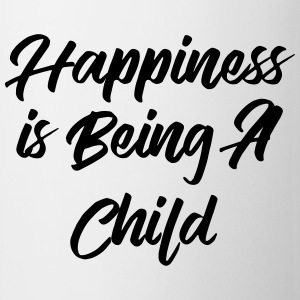 Happiness is being a child T-shirts - Mugg