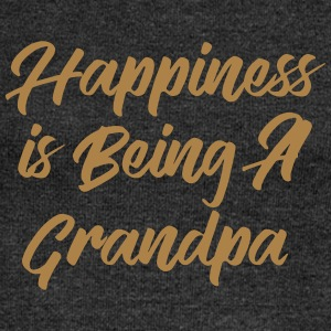 Happiness is being a Grandpa T-Shirts - Women's Boat Neck Long Sleeve Top