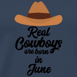 Real Cowboys son bon en June Spld4 Manga larga - Camiseta premium hombre