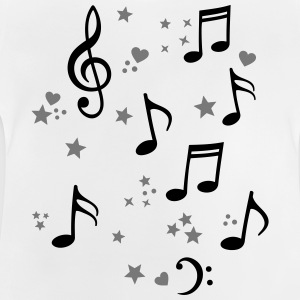 happy music melody  Shirts - Baby T-Shirt