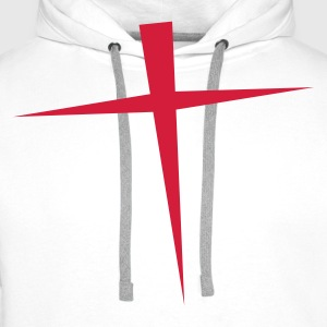 CROSS ENGLAND T-Shirts - Men's Premium Hoodie
