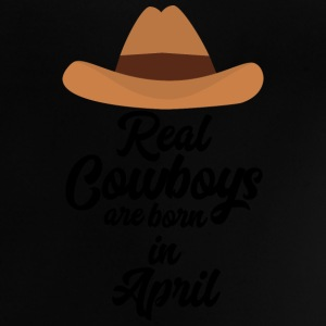 Real Cowboys are bon in April Snkg6 Shirts - Baby T-Shirt